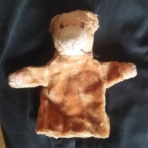 Vintage Well Loved and Used Hand Puppet